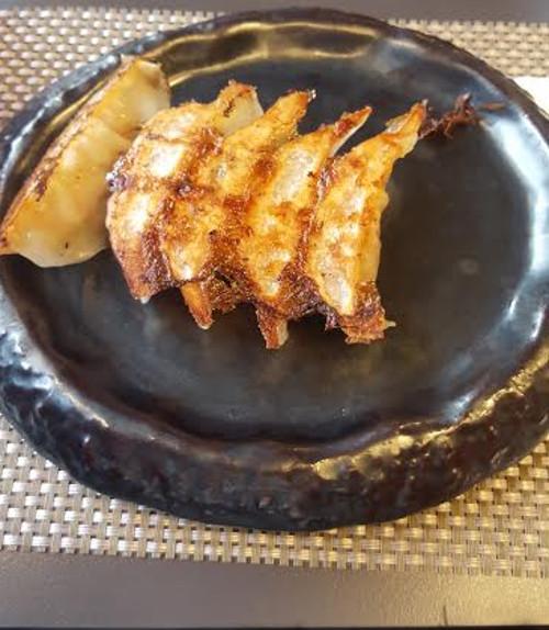 Voici les délicieux Gyoza d'Hakata Choten
