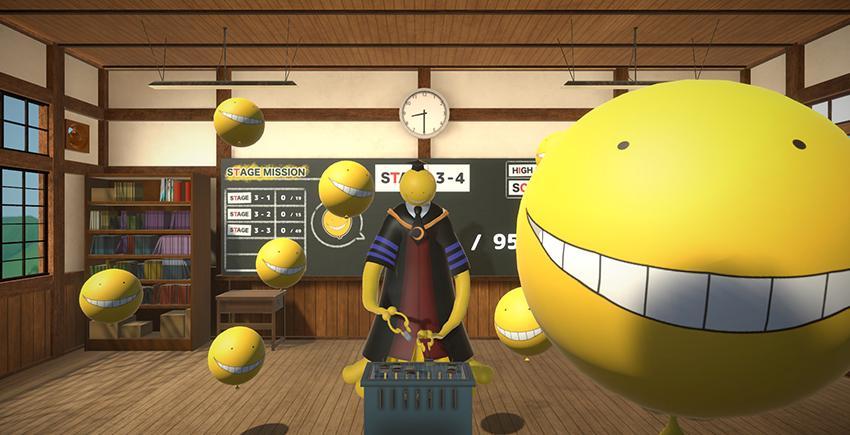 Assassination Classroom Balloon Challenge Time en réalité virtuel !