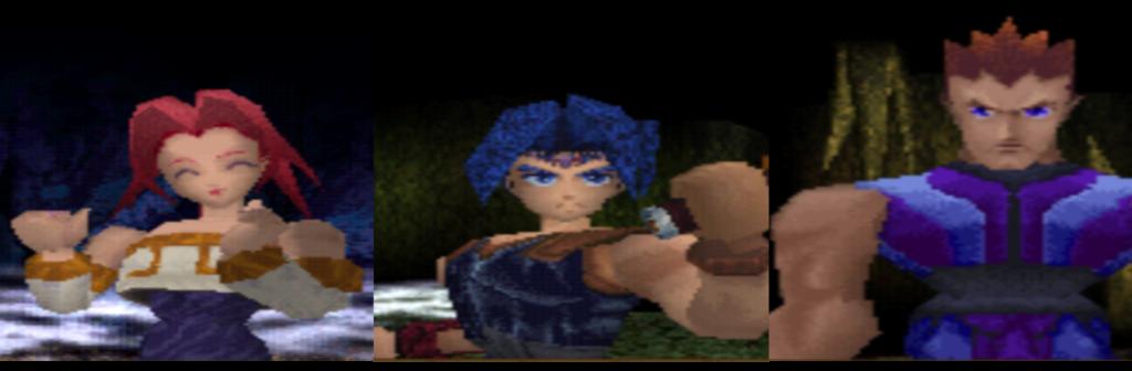 Legend of legaia Vahn Noa Gala