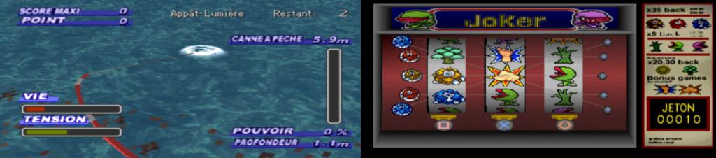 Legend of legaia mini jeu
