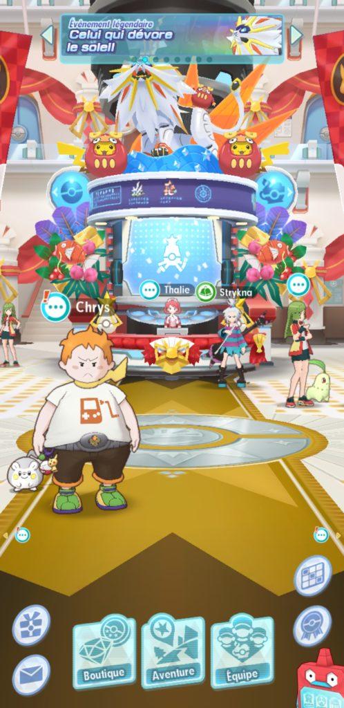 Bienvenue dans Pokémon Masters