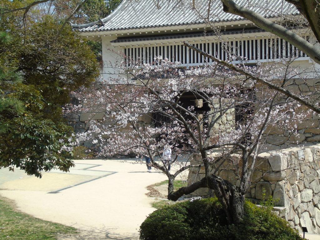 entrée parc château okayama