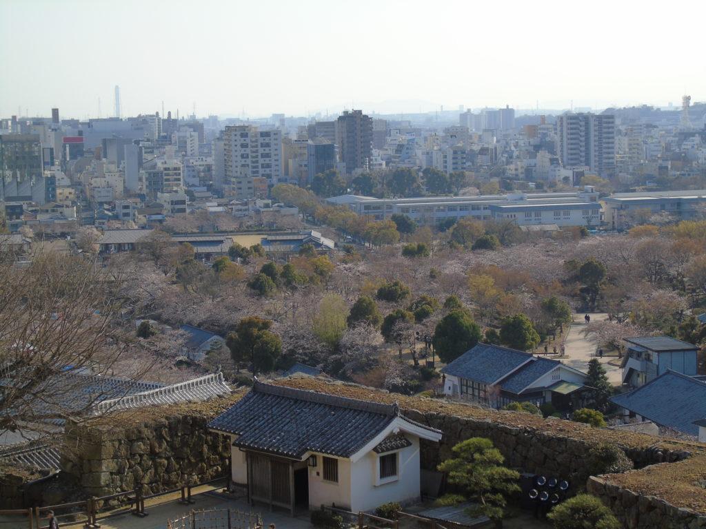 Parc Himeji Hauteur