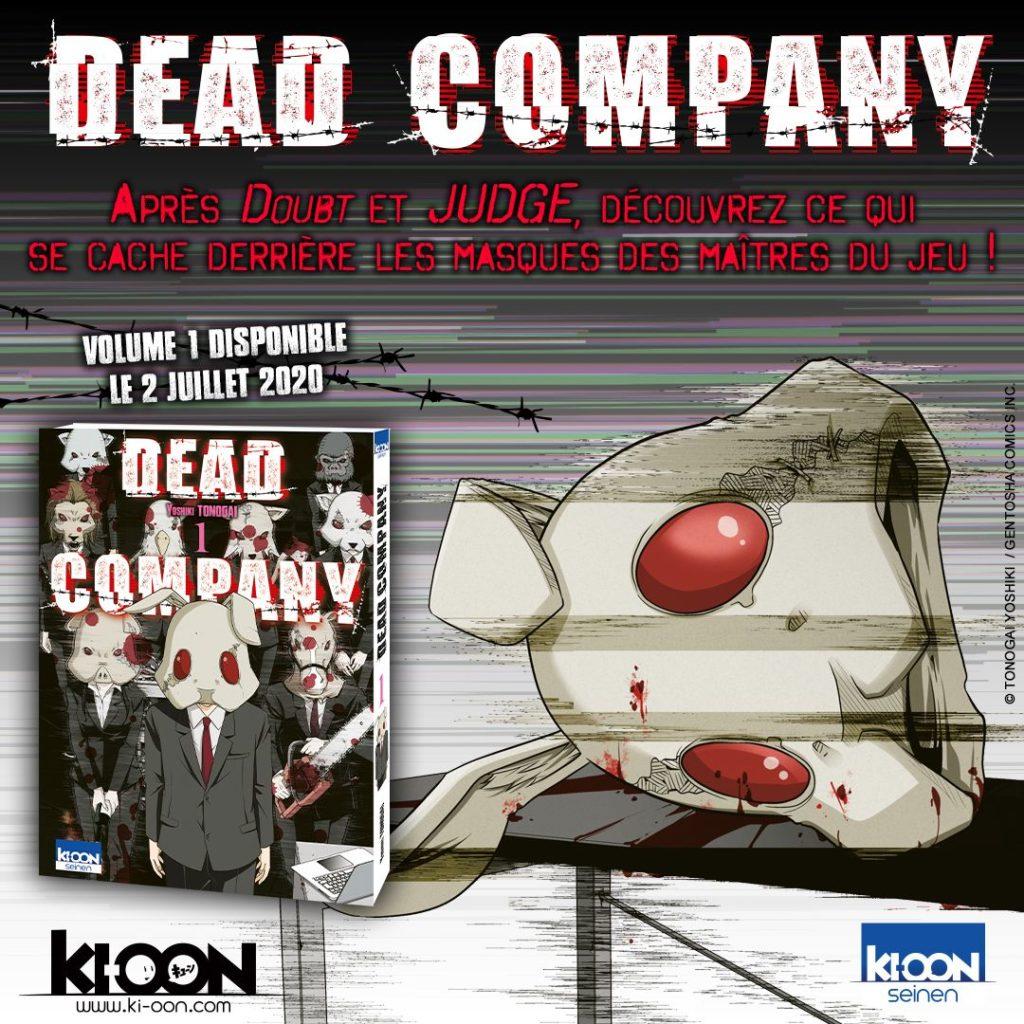 Dead Company Tome 1