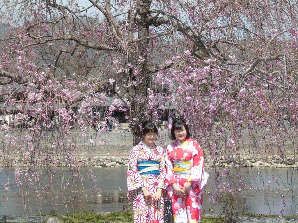Arashiyama Kimono