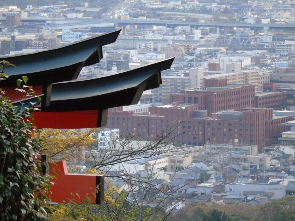 Fushimi Inari tori top