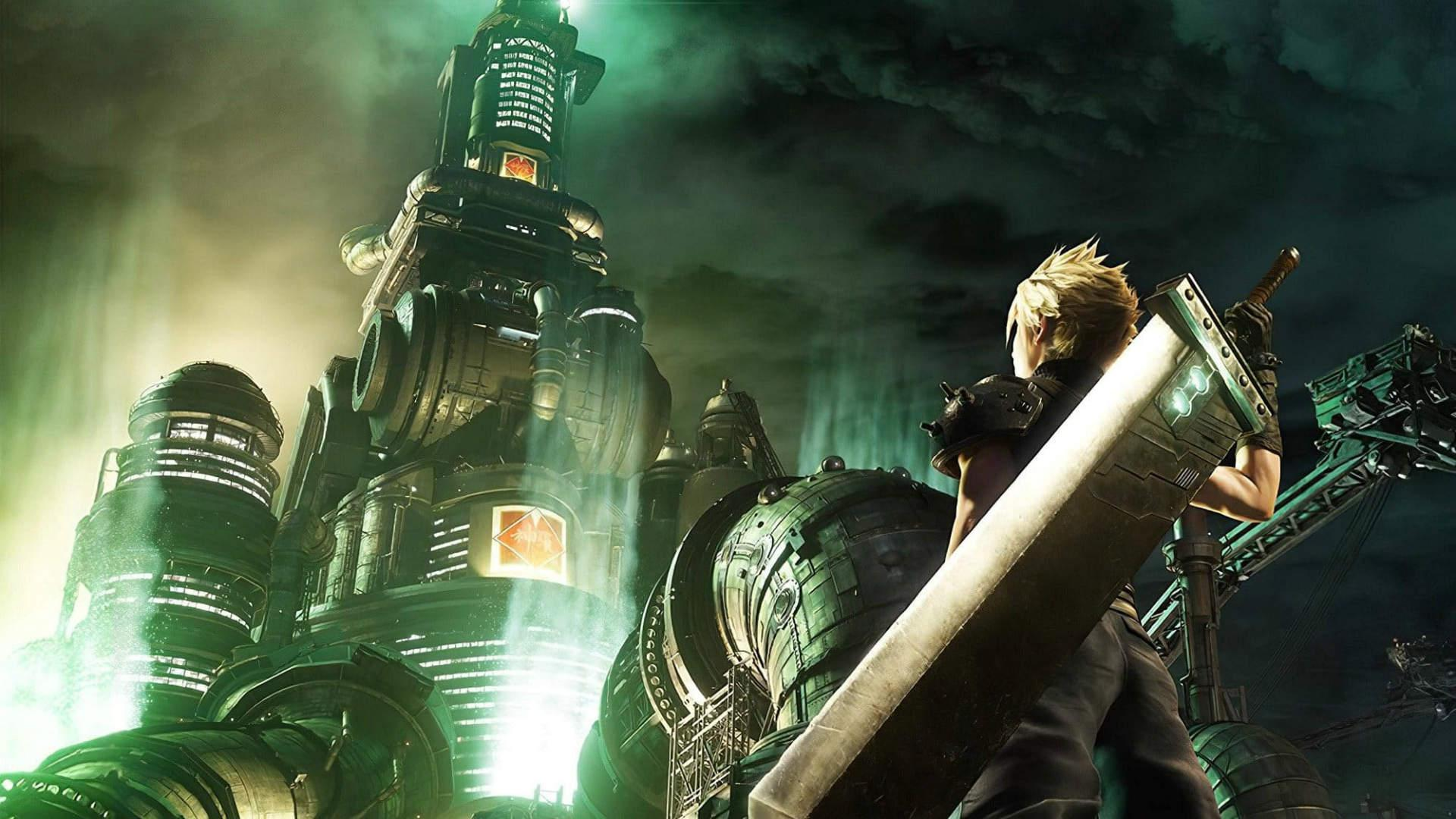 Final fantasy cloud shinra