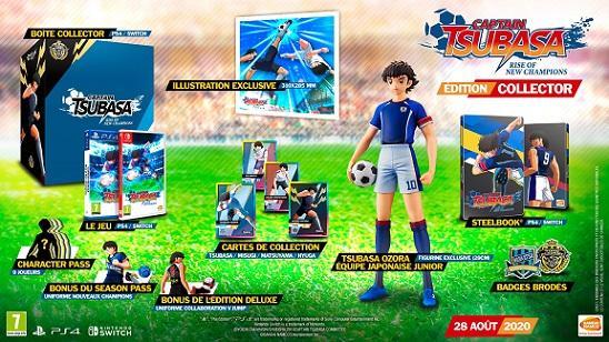 Captain Tsubasa Edition Collector