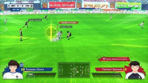 Capture d'écran du jeu adapté d'Olive et Tom