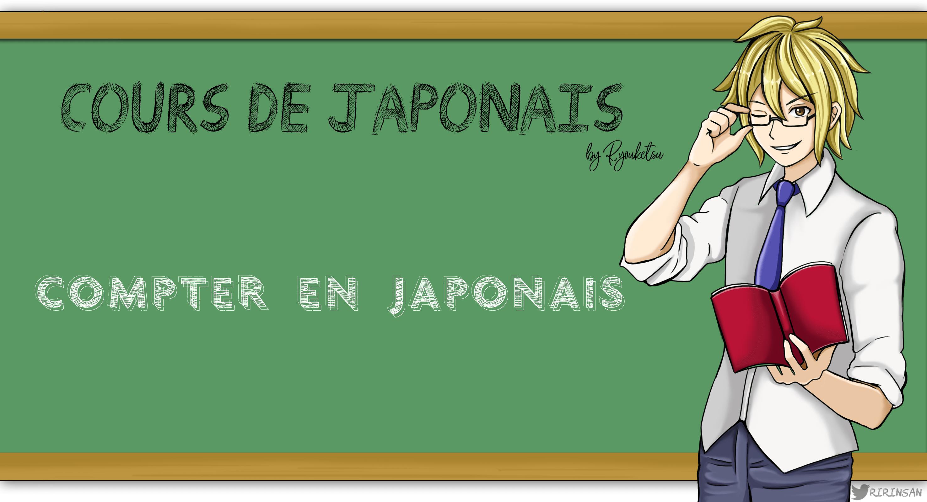 compter en japonais cours