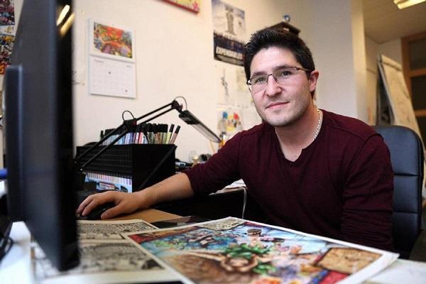 Christophe Cointault, auteur du manga français Wind Fighters