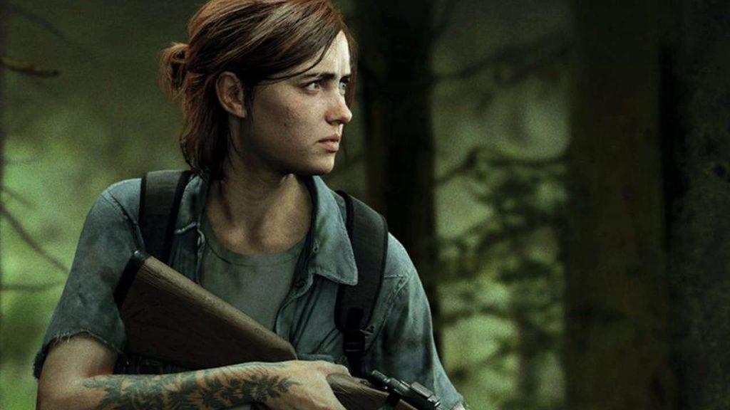 Ellie, personnage du jeu vidéo The last of us Part II