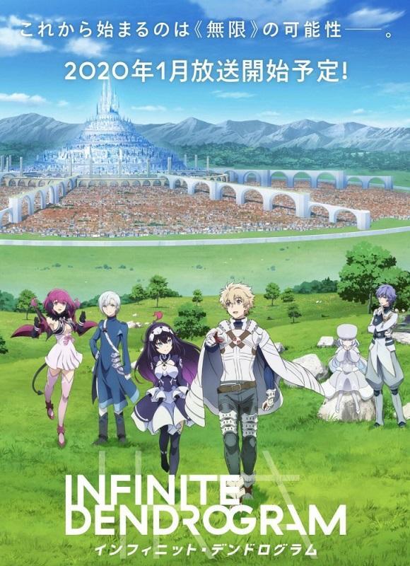 On connait la date de sortie du manga Infinite Dendrogram