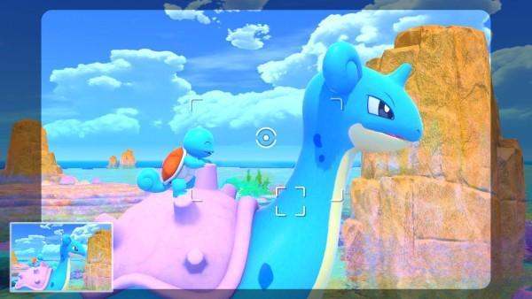Prenez en photo des Pokemon dans le nouveau jeu de la switch