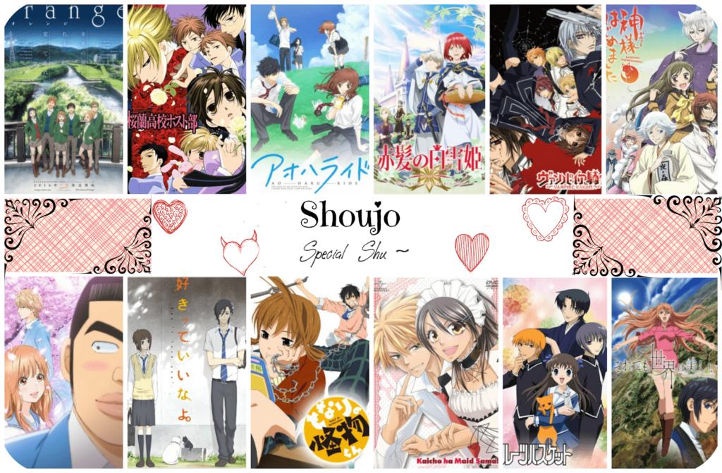 Shujo list