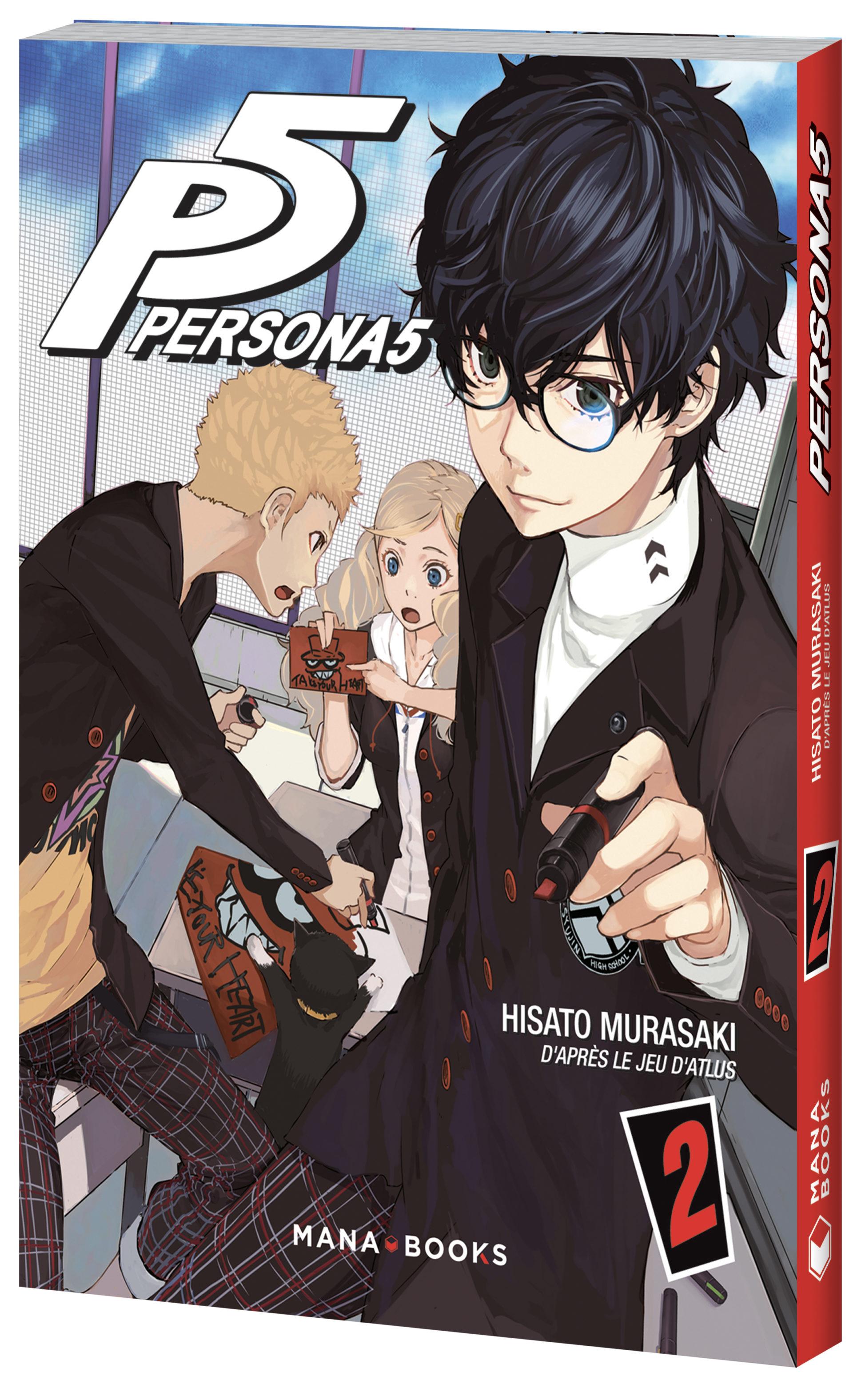 Persona 5 Tome 2 - Mana Books - Hisato Murasaki - Atlus