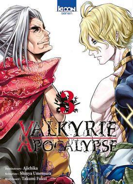 Valkyrie apocalypse tome 3 - Editions Ki-oon