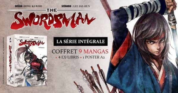 The Swordsman promotion - Editions Meian