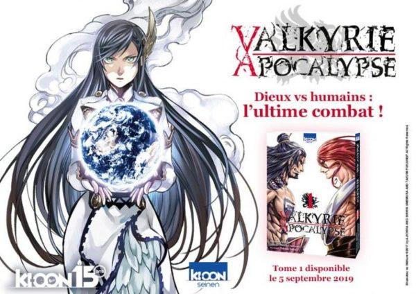 Valkyrie Apocalypse - Promotion - Editions Ki-oon