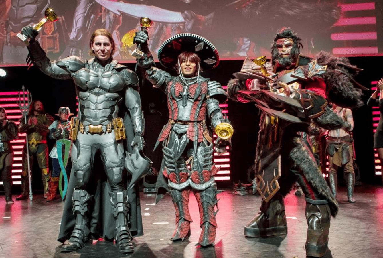 image d'un concours de cosplay