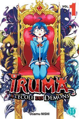 iruma à l'école des démons tome 1 - Editions Nobi Nobi