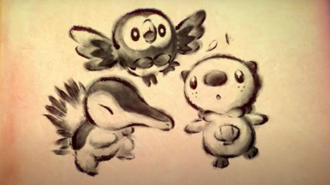 Légendes Pokémon : Arceus - starters