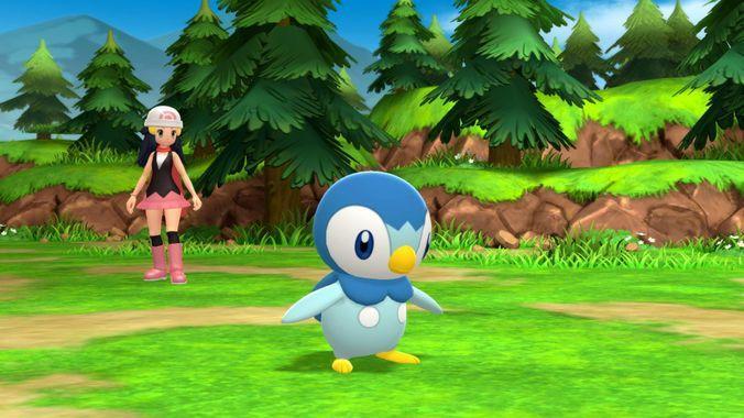 Pokémon Diamant Etincellant et Perle Scintillante - Personnage combat