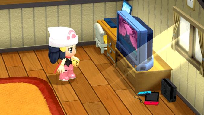 Pokémon Diamant Etincellant et Perle Scintillante - Personnage Chibi