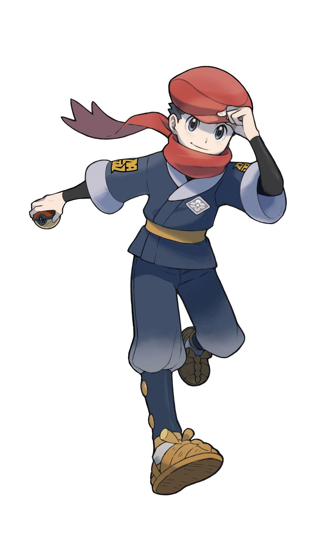 Légendes Pokémon : Arceus - Protagoniste masculin