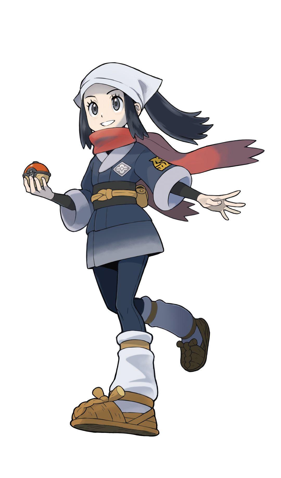 Légendes Pokémon : Arceus - Protagoniste féminin