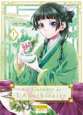Les carnets de l'apothicaire - Tome 1 - Editions Ki-oon