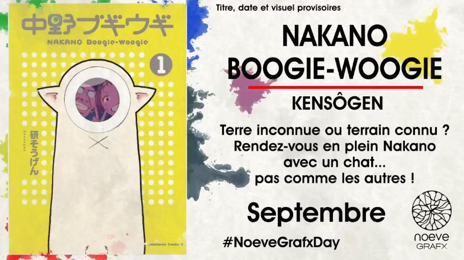 Nakano Boogie-Woogie tome 01