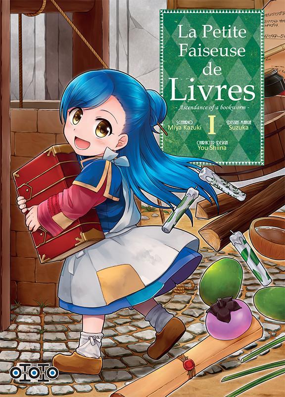 La petite faiseuse de livres - Ascendance of a bookworm - # 1 - Ototo - Miya Kazuki - Suzuka - You Shiina