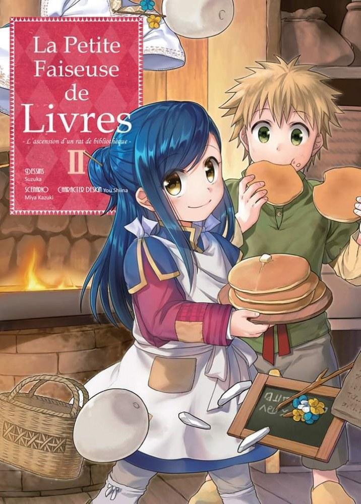 La petite faiseuse de livres - Ascendance of a bookworm - # 2 - Ototo - Miya Kazuki - Suzuka - You Shiina