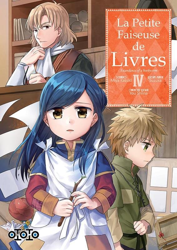 La petite faiseuse de livres - Ascendance of a bookworm - # 4 - Ototo - Miya Kazuki - Suzuka - You Shiina