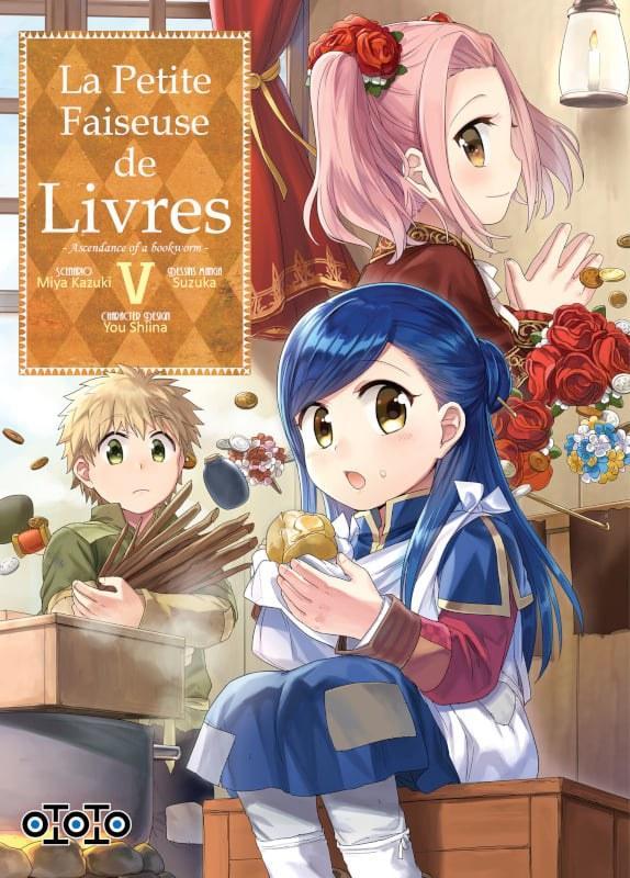 La petite faiseuse de livres - Ascendance of a bookworm - # 5 - Ototo - Miya Kazuki - Suzuka - You Shiina