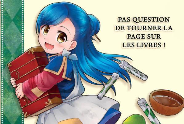 La petite faiseuse de livres - Ascendance of a bookworm - Promotion - Ototo - Miya Kazuki - Suzuka - You Shiina