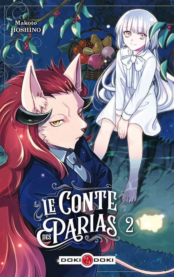 Le conte des parias # 2 - Makoto Hoshino - Editions Doki Doki