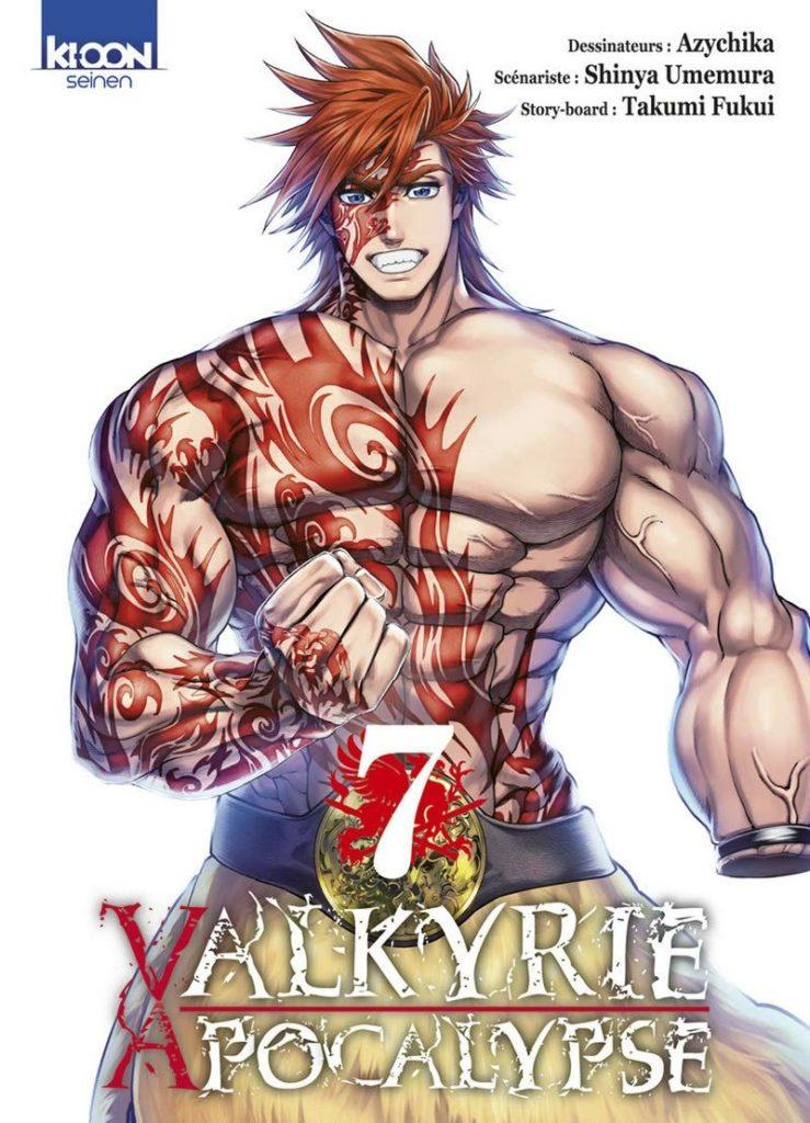 Valkyrie apocalypse tome 7 - Edition Ki-oon - Azychika - Shinya Umemura - Takumi Fukui