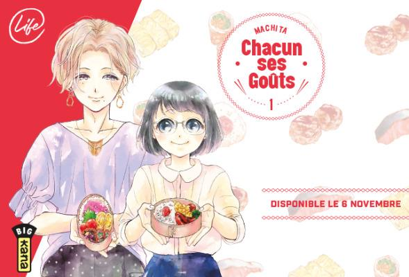 Chacun ses goûts- Machita- Editions Kana - Collection Big Kana