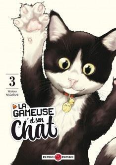 La gameuse et son chat # 3 - Wataru Nadatani - Editions Doki-Doki