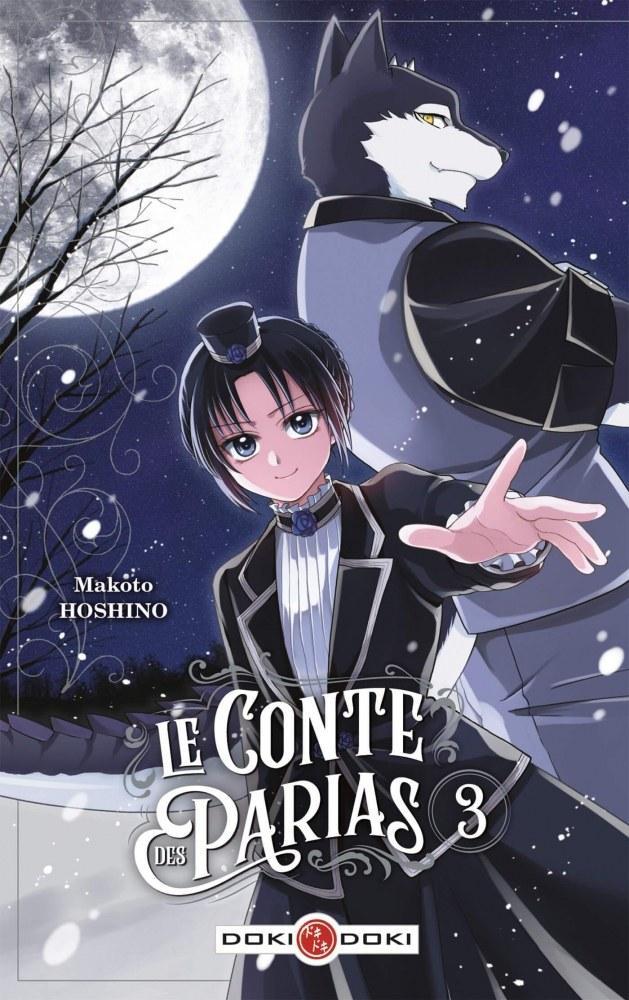 Le conte des parias # 3 - Makoto Hoshino - Editions Doki Doki