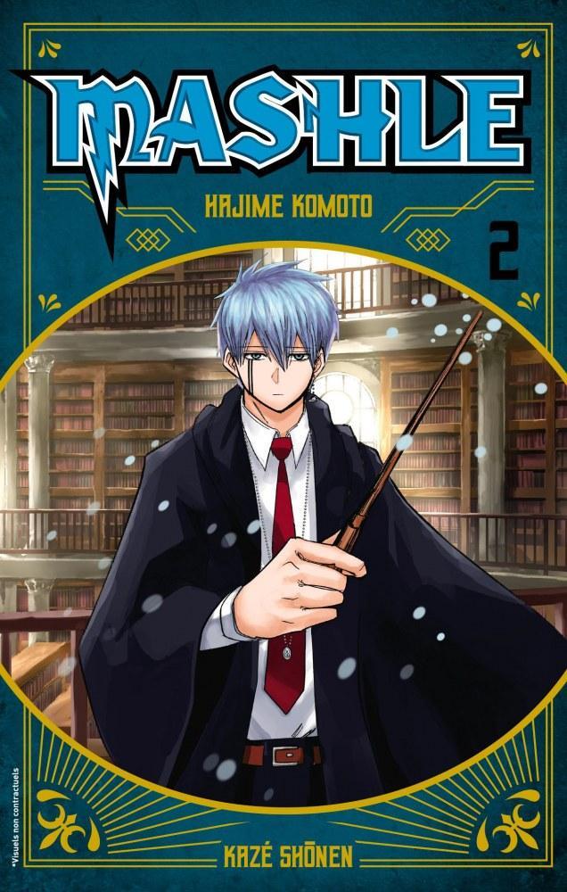 Mashle - 2 - Hajime Komoto - Editions Kaze (Shônen)