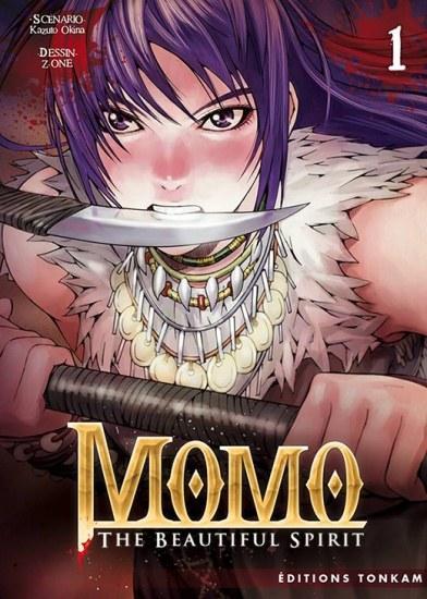 Momo The Beautiful Spirit - 1 - Kazuto Okina - Z-One - Editions Tonkam