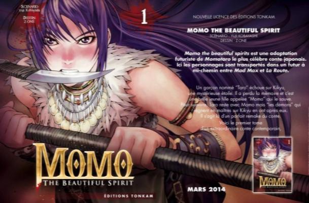 Momo The Beautiful Spirit - Promotion - Kazuto Okina - Z-One - Editions Tonkam