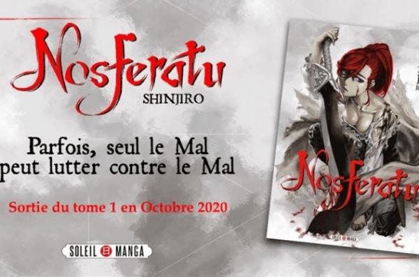 Nosferatu - Promotion - Shinjiro - Soleil Manga