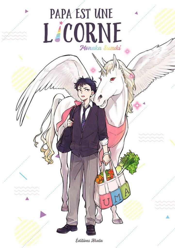 Papa est une licorne - OS - Monaka Suzuki - Editions Akata