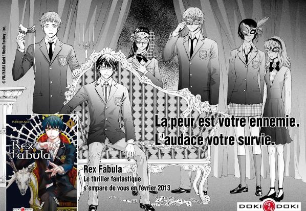 Rex Fabula - Promotion - Fujiyama Kairi - Editions Doki-doki