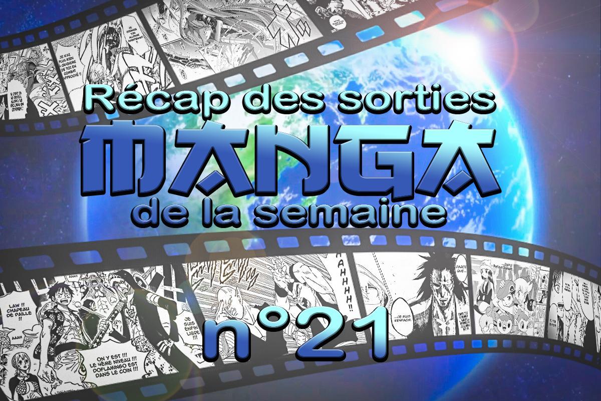 semaine 21 manga