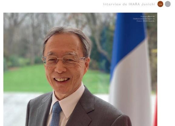 interview ambassadeur japon